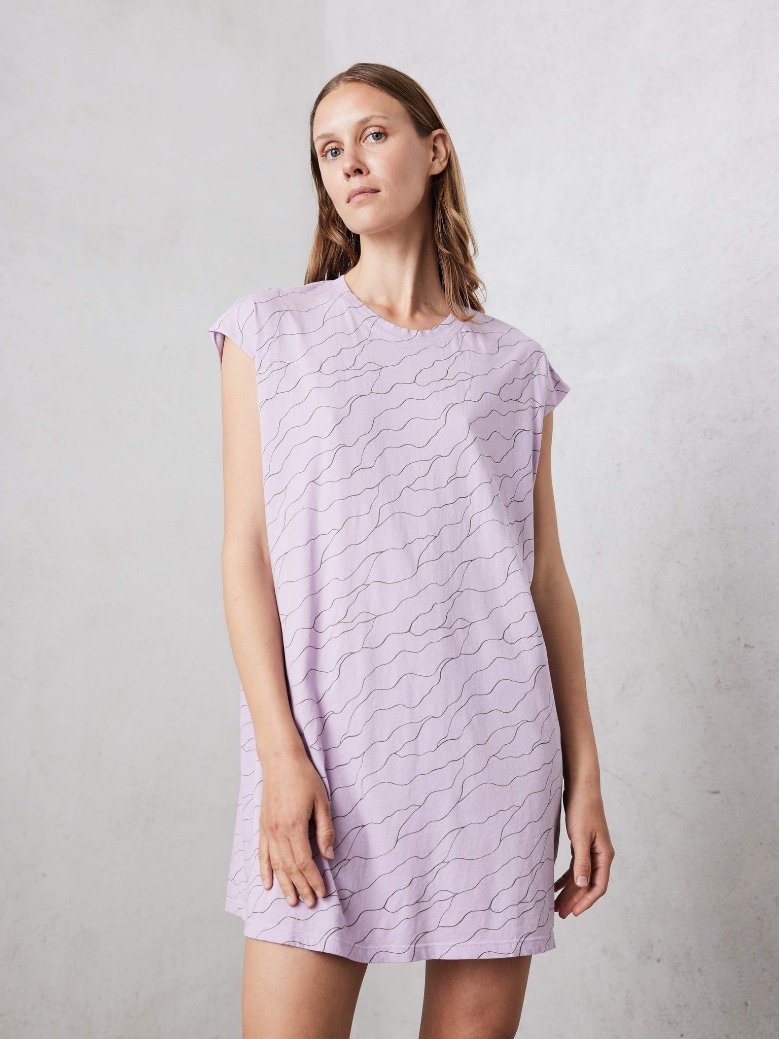 Sleeveless T-Shirt Dress