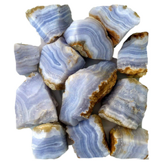 Blue Lace Agate from Nambia