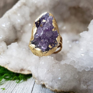 Amethyst Priestess Rings - Shop Dreamers of Dreams