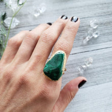 Load image into Gallery viewer, Malachite Priestess Ring