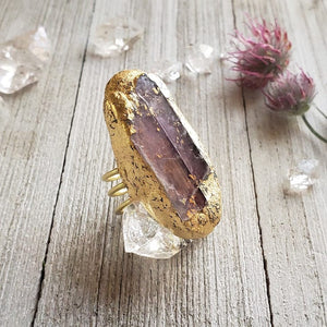Lepidolite Priestess Ring - Shop Dreamers of Dreams