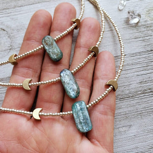 Speak with Confidence - Kids Kyanite Necklace