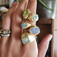 Load image into Gallery viewer, Large Raw Opal size 9 - Shop Dreamers of Dreams
