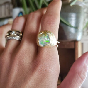 Large Raw Opal size 9 - Shop Dreamers of Dreams