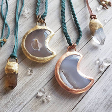 Load image into Gallery viewer, Druzy Moon Talismans - Shop Dreamers of Dreams