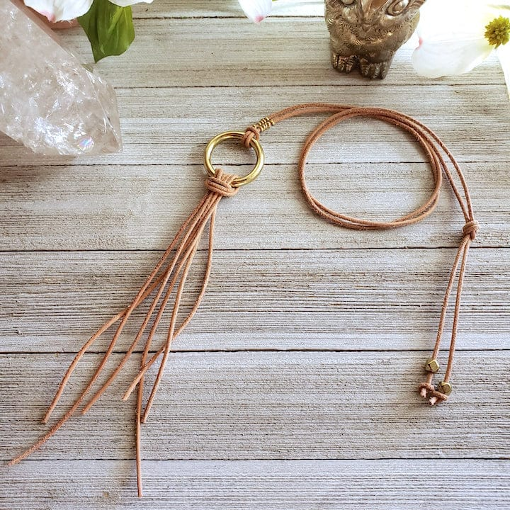 Brass Ring Layer Necklace - Shop Dreamers of Dreams