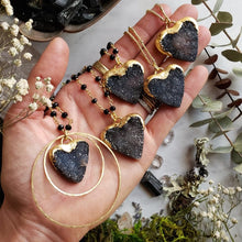 Load image into Gallery viewer, True Love Druzy Heart Necklaces - Shop Dreamers of Dreams