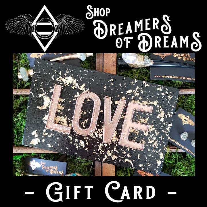 Give Love Dreamers Gift Card - Shop Dreamers of Dreams