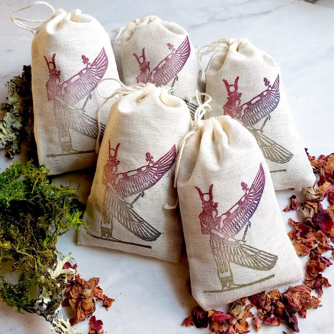 Isis Hibiscus and Lavender Sachet - Shop Dreamers of Dreams