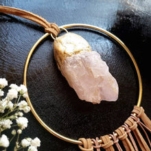 Load image into Gallery viewer, Rose Quartz Wall Hanging - Shop Dreamers of Dreams