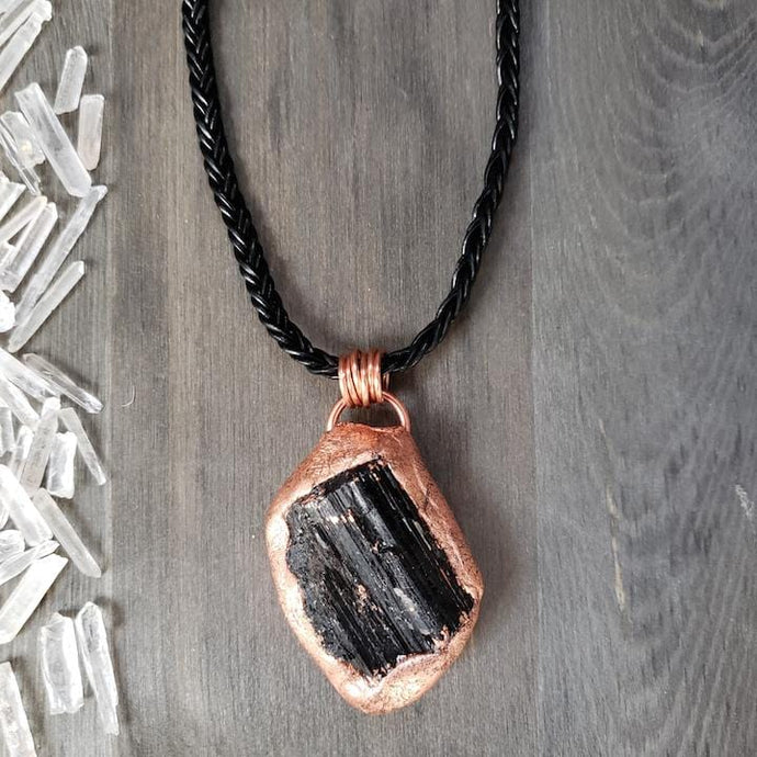 Raw Black Tourmaline Protection Stone - Shop Dreamers of Dreams