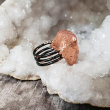 Load image into Gallery viewer, Rainbow Druzy Priestess Ring - Shop Dreamers of Dreams