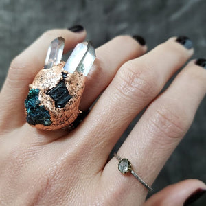 Phantom Quartz Priestess Ring - Shop Dreamers of Dreams