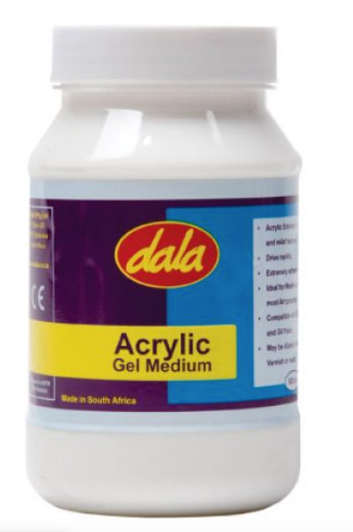 DALA ACRYLIC GEL MEDIUM 500ML