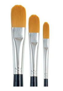 DALA 757 GOLDEN TAKLON FILBERT BRUSH