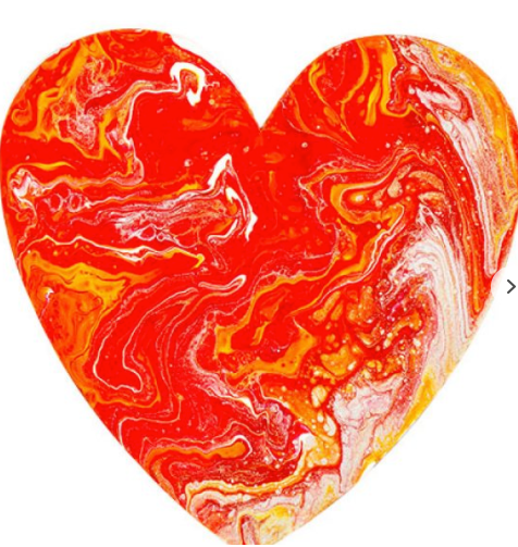 DALA MARBLING KIT #2 HEART