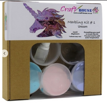 Load image into Gallery viewer, DALA MARBLING KIT #1 UNICORN