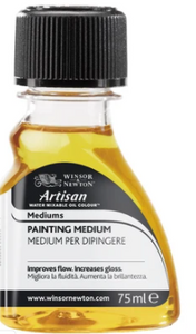 WINSOR & NEWTON WATER-MIXABLE PAINTING MEDIUM