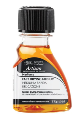 WINSOR & NEWTON WATER-MIXABLE FAST DRYING MEDIUM