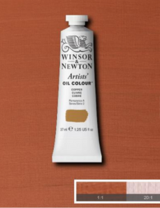WINSOR & NEWTON ARTIST'S OIL COLOUR METALIC