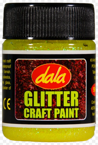 DALA CRAFT PAINT- GLITTER COLOURS