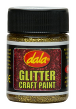 Load image into Gallery viewer, DALA CRAFT PAINT- GLITTER COLOURS