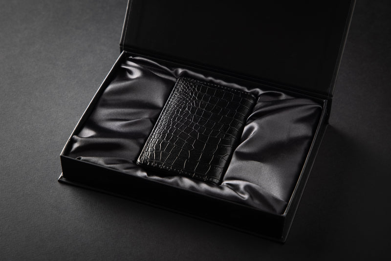 Luxury Premium Wallet Cardholder - Midnight Schwarz
