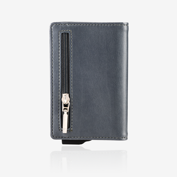 Zipper Premium Wallet Cardholder - Grey