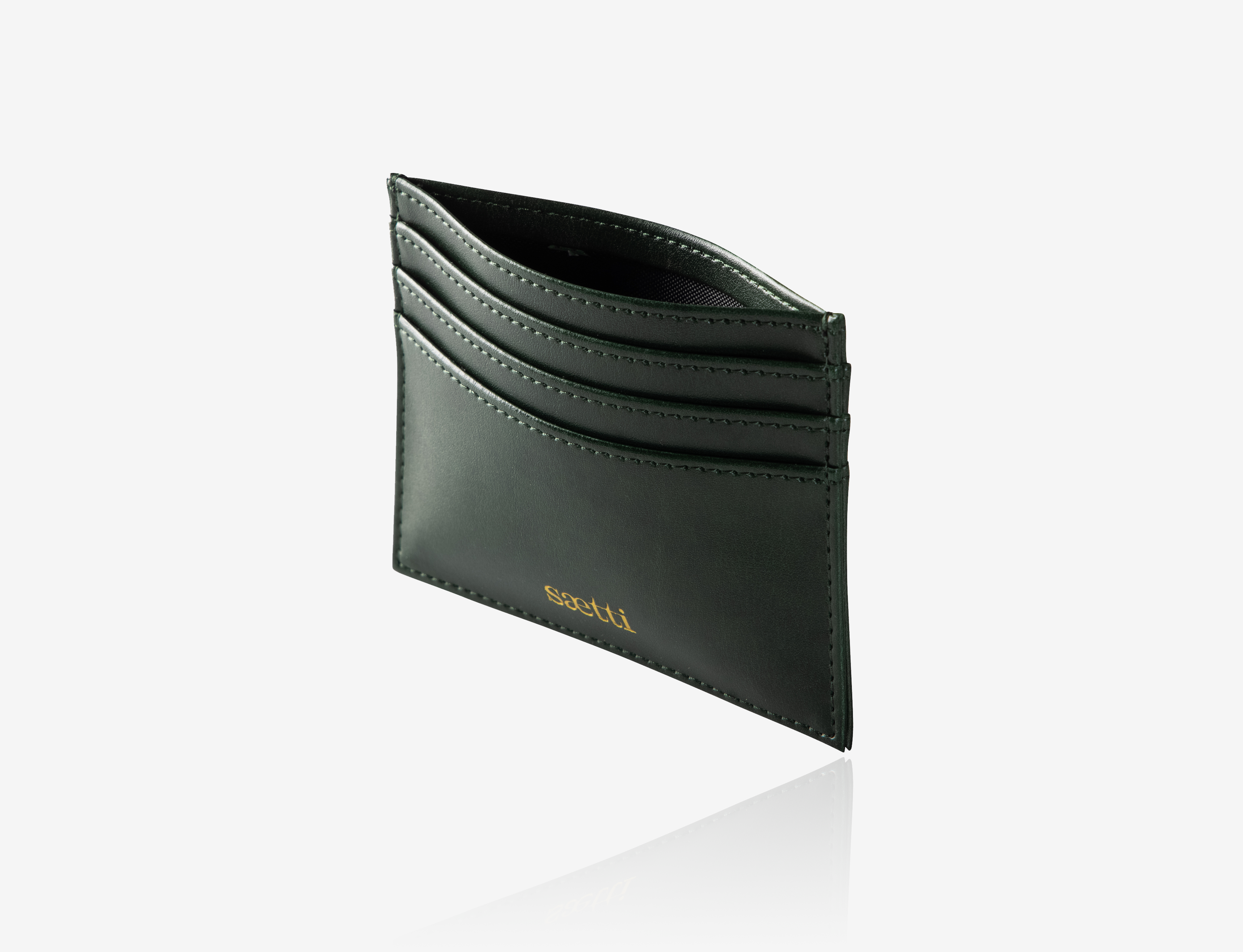 Mini Premium Wallet Cardholder - Emerald Green
