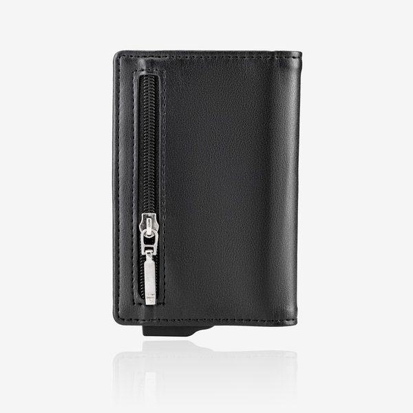 Zipper Premium Wallet Cardholder - Black