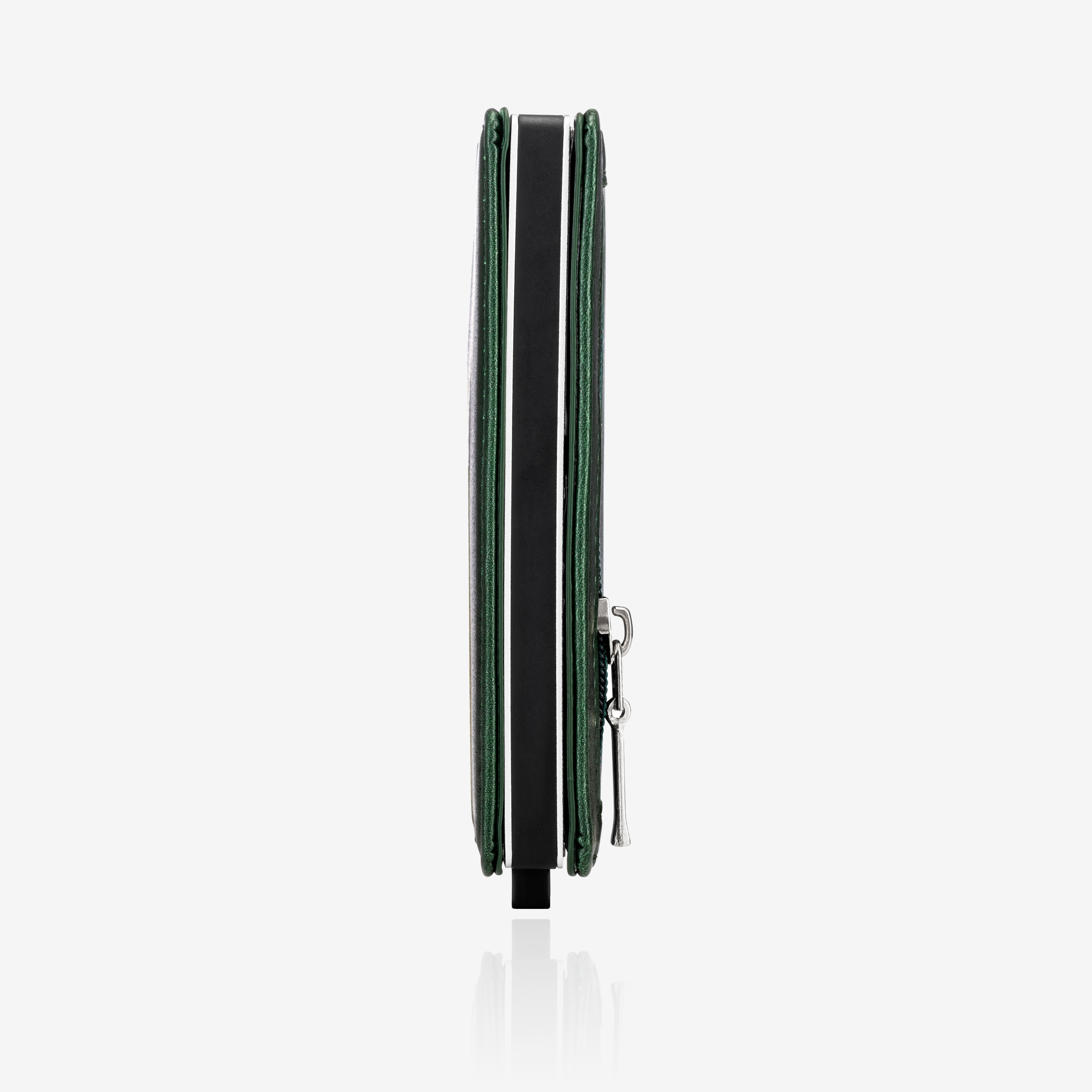 Zipper Premium Wallet Cardholder - Emerald Green