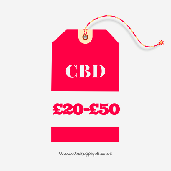CBD Products From £20 - £50