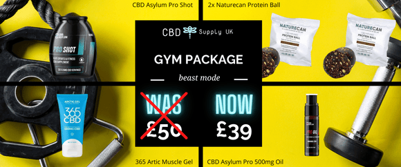 CBD Gym Products Package