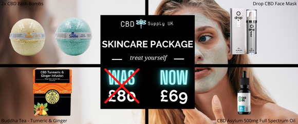 CBD Skincare Products Package