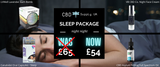 CBD Sleep Products Package