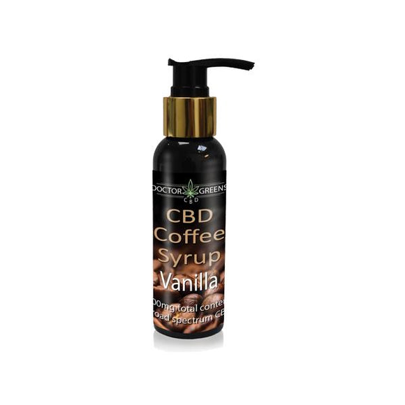 Doctor Green's 500mg CBD Coffee Syrup CBD 100ml