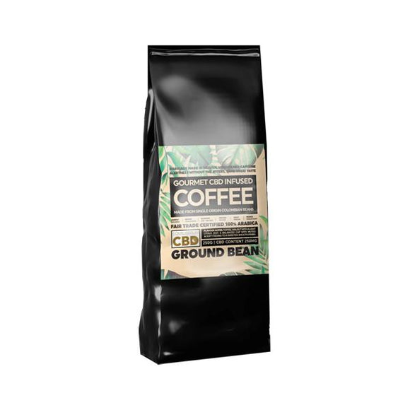 Equilibrium CBD 250mg Gourmet Ground CBD Coffee 250g Bag