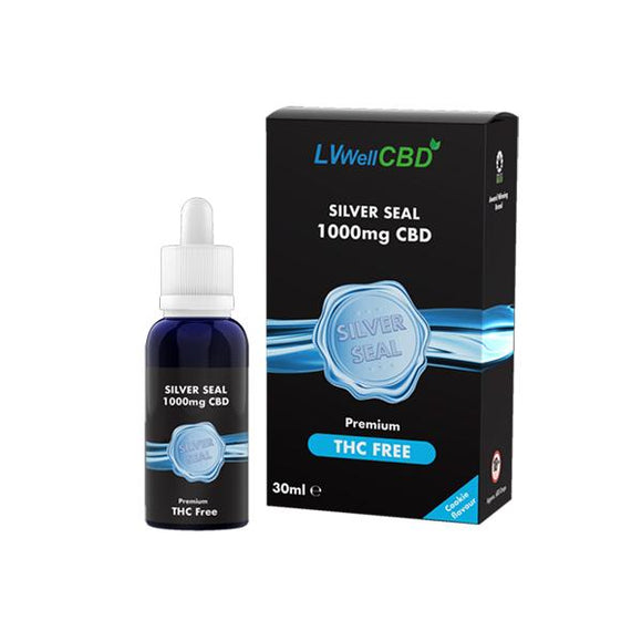 LVWell CBD Silver Seal 1000mg 30ml Hemp Seed Oil
