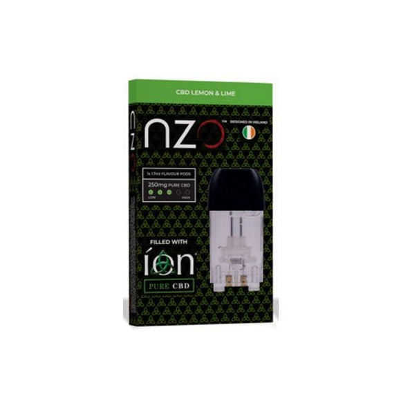 NZO & ION Pure CBD 250mg CBD Cartridges