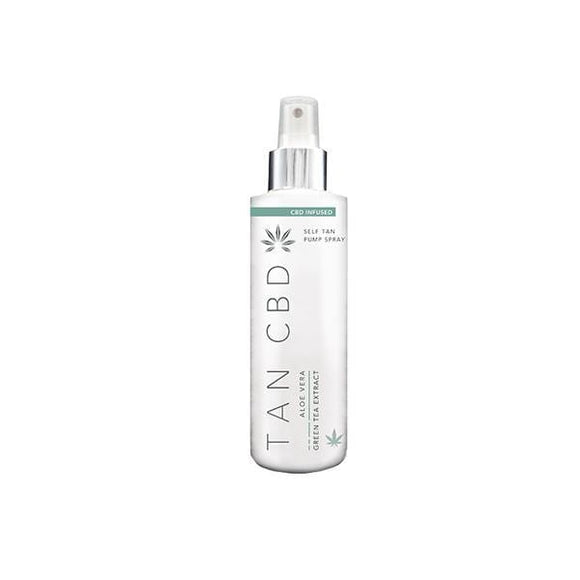 Tan CBD 75mg CBD Infused Self Tan Pump Spray 200ml
