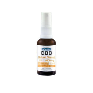 Access CBD 4800mg CBD Broad Spectrum Oil Mixed 30ml