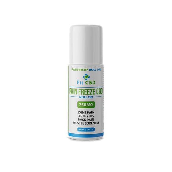 Fit CBD 750mg CBD Freeze Roll On 90ml
