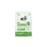 CBDfx 20mg CBD Face Mask - Cucumber