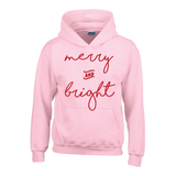 merry AND bright hoodie