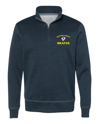 Braves Quarter Zip