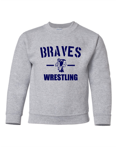 CG Wrestling Youth Crewneck Sweatshirt