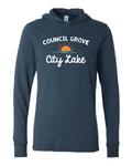 Council Grove City Lake Hooded Tee