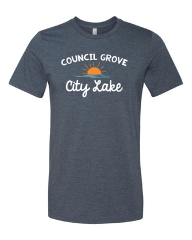 Council Grove City Lake Tee