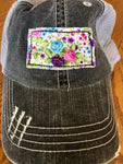 Kansas Patch Charcoal Hat