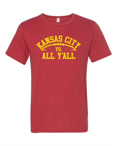 KC vs. All Y'all Tee